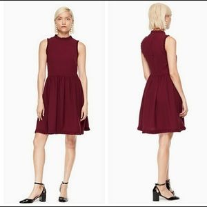 NWT Kate Spade Ruffle Fit & Flare Dress💋